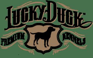Logo for Lucky Duck Premium Kennels